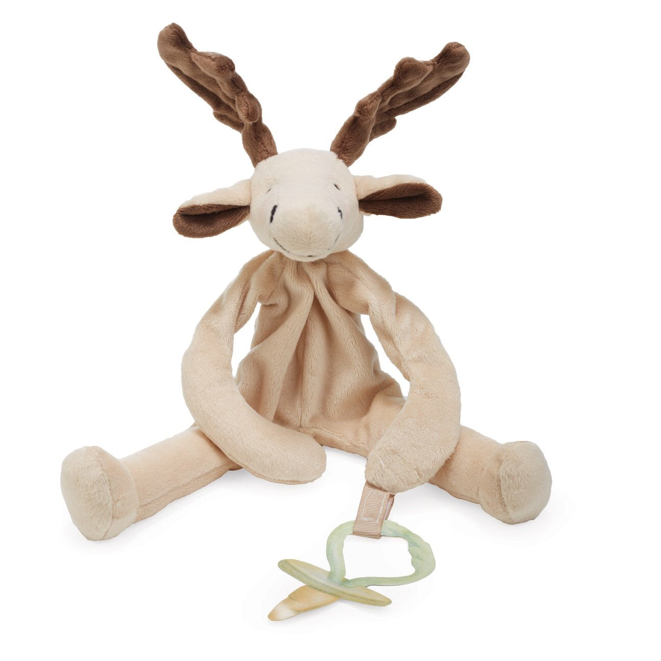 Pacifier Holder/ Stuffed Animal (Bruce the Moose)