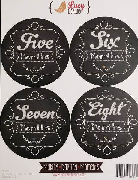 Little Student Stickers (1-12 months)