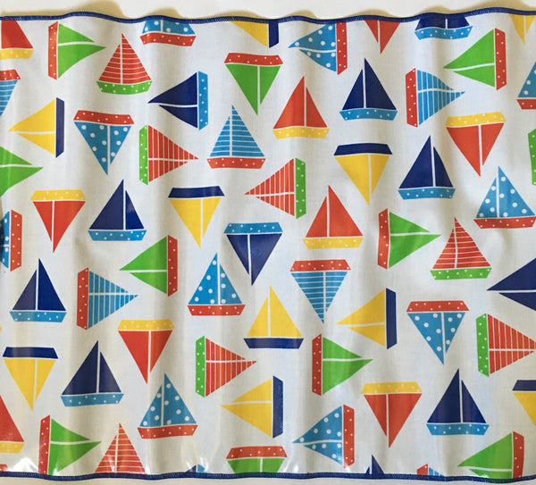 Sailboats Chalk Mat