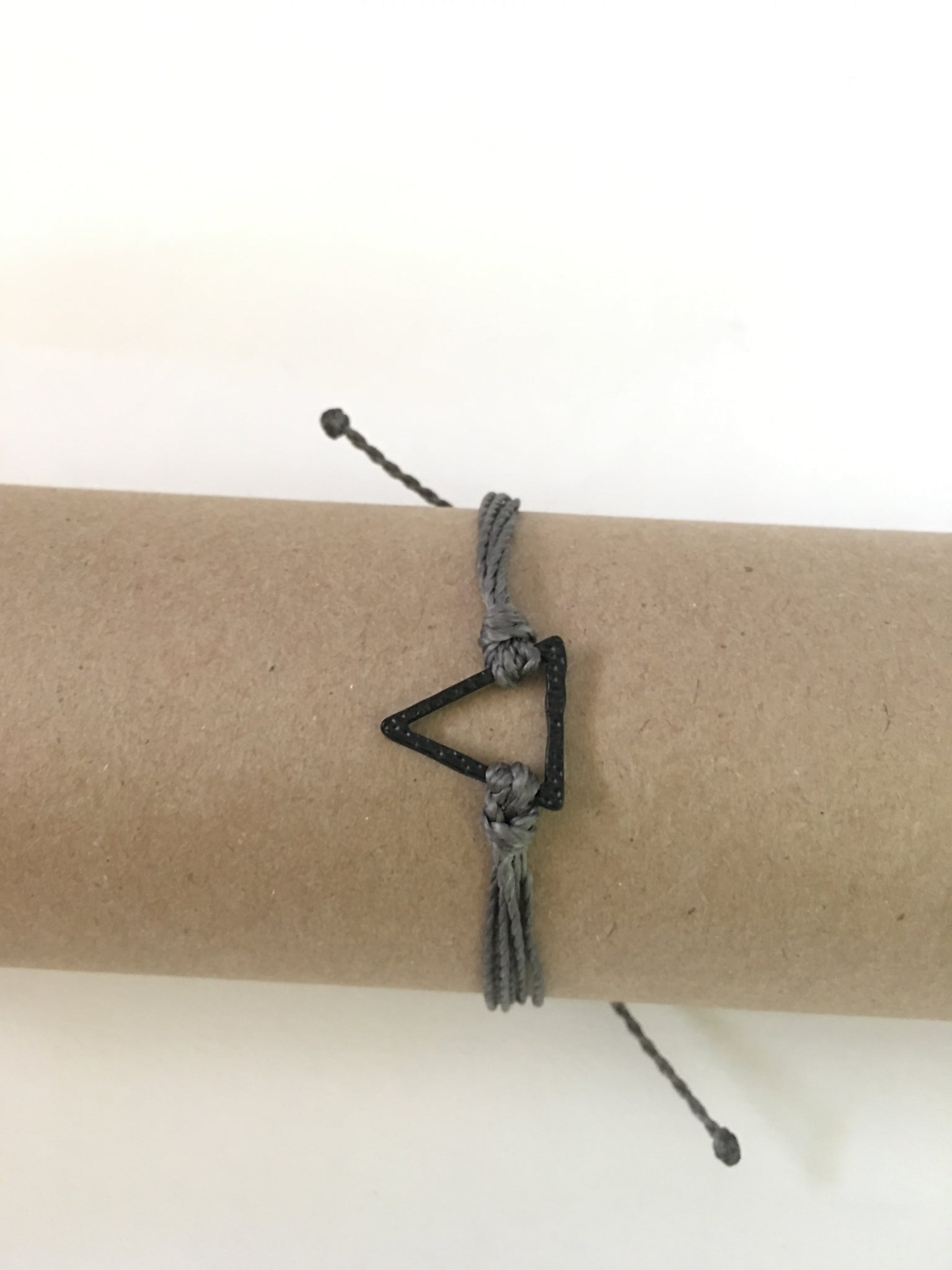 Gray Bracelet, Black Arrow