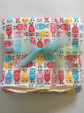 Mini Hooters Burp Cloth