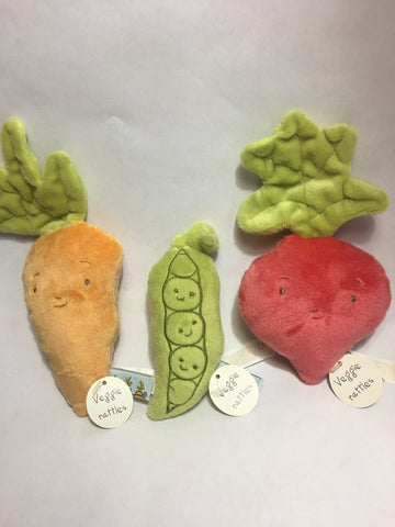 Rattles (Vegetable Collection)