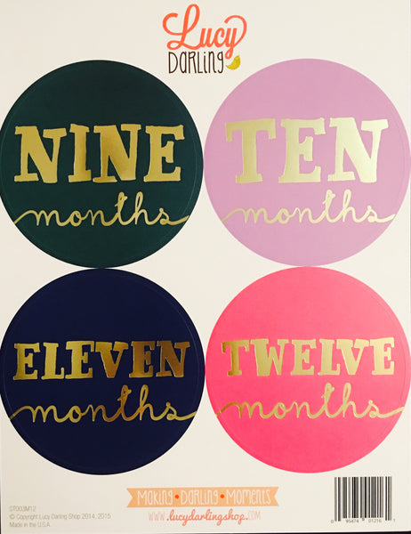 Little Jewel Stickers (1-12 months)