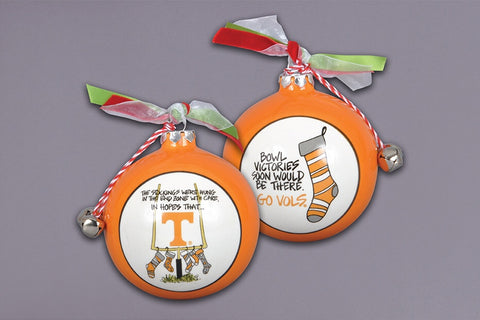 Tennessee Stockings Christmas Ornament