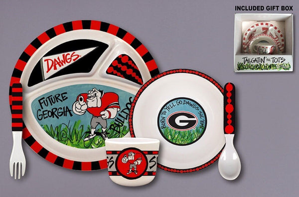 Georgia Bulldogs Dish Set