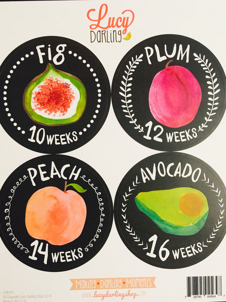 Growing Belly (Mama) Pregnancy Stickers