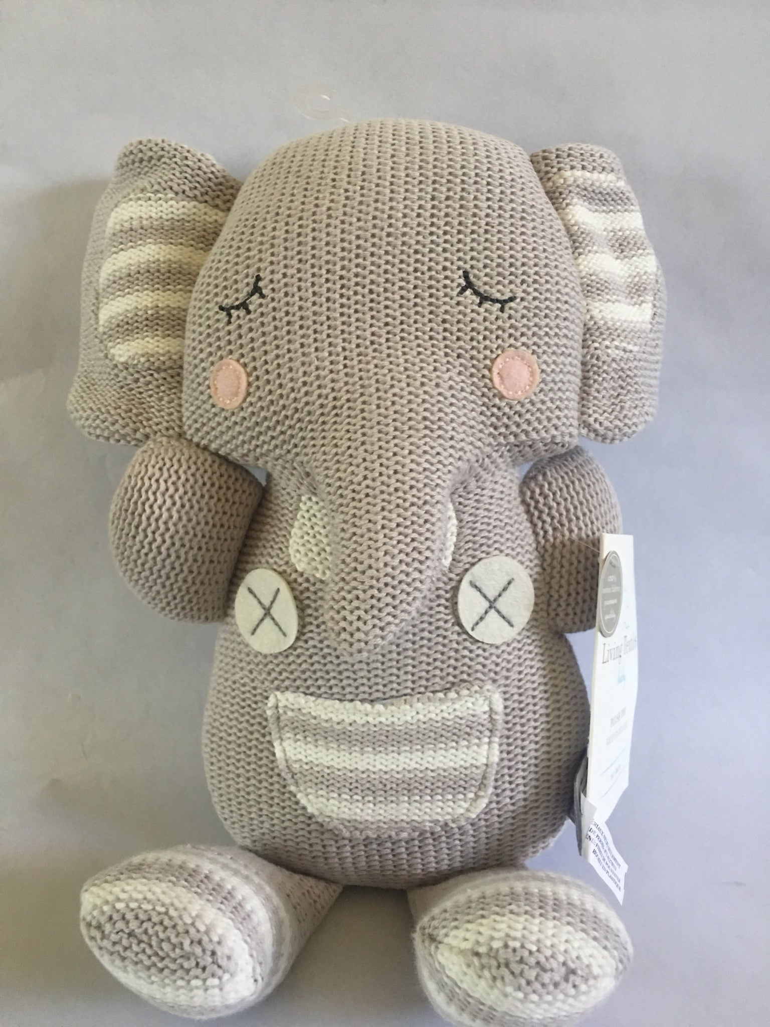 Toy/Stuffed Animal (Theodore Elephant)