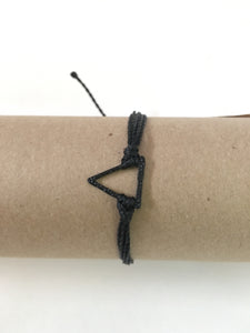 Black Bracelet, Black Triangle