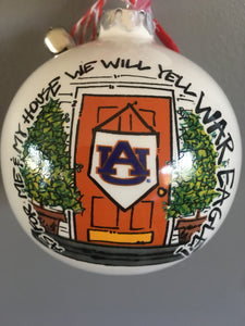 Auburn TIGERS Christmas Ornament