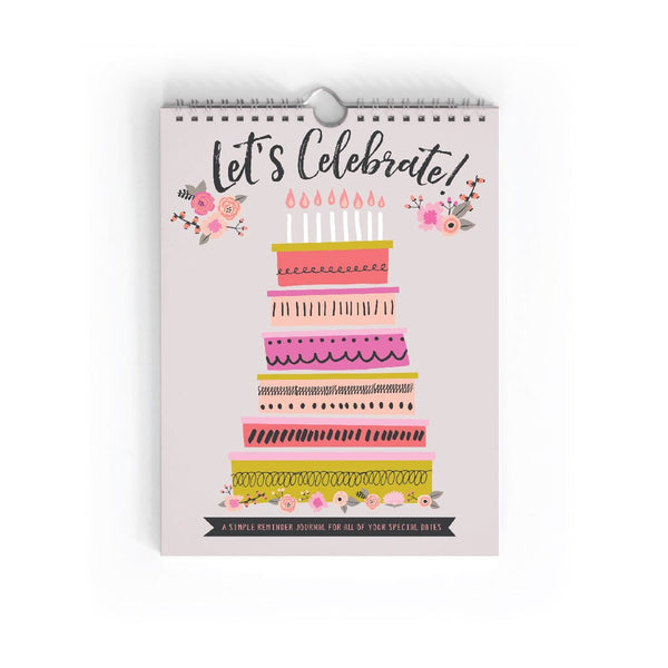 Perpetual Calendar (Birthday Book)