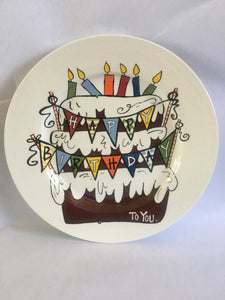 Happy Birthday Plate