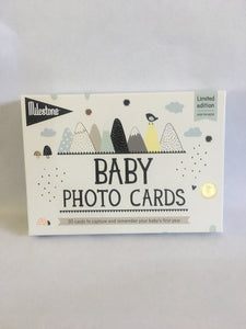 Milestone Baby Newborn Photo Cards