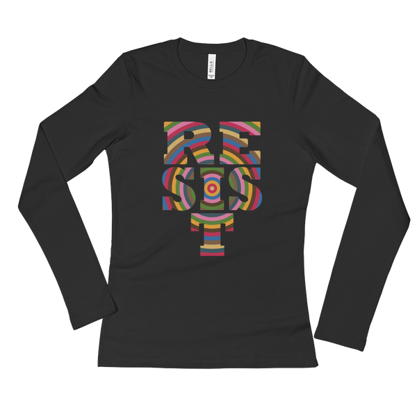 RESIST! Women's Long Sleeve T-Shirt