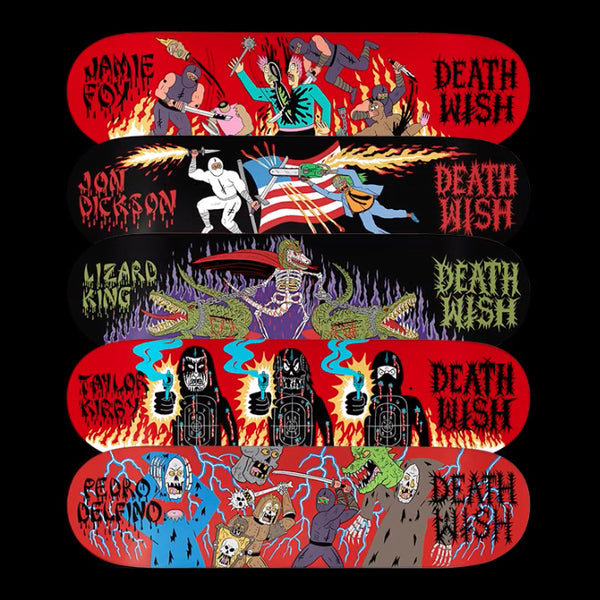 Deathwish Skateboards REVENGE OF THE NINJA!!!