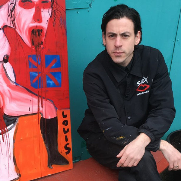 The SEX Skateboards founder talks us through his surreal artwork