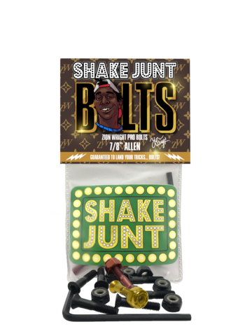 Shake Junt Skateboard Fixing Bolts Zion Wright Pro Bolts - 7/8