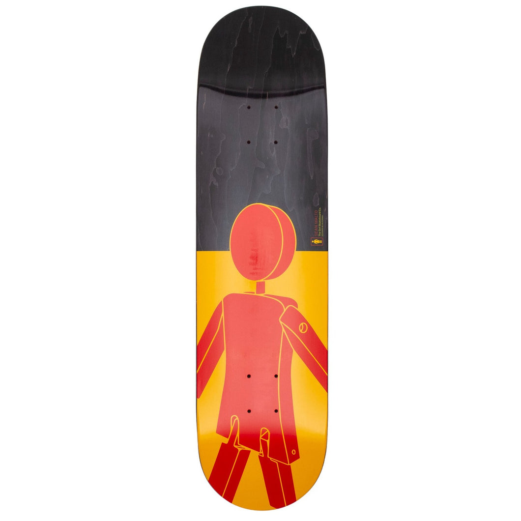 Girl Skateboards Marionette Sean Malto Skateboard Deck - 8.00