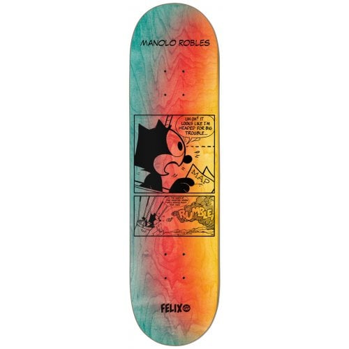 Darkstar Skateboards Manolo Robles Felix Future R7 Skateboard Deck - 8.00
