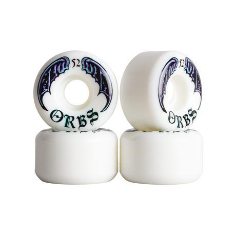 Welcome Skateboards Orbs Specters Wheels 52mm - White
