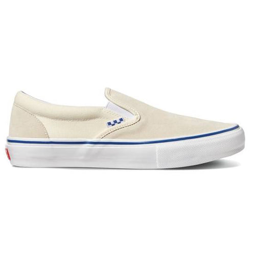 Vans Skate Classics Slip-On Skateboarding Shoes - Off White
