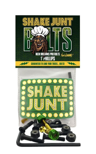 Shake Junt Skateboard Fixing Bolts Neen Williams Pro Bolts - 1