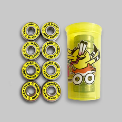 Blast Skates Abec 9 Zippy Puppies Skateboard Bearings