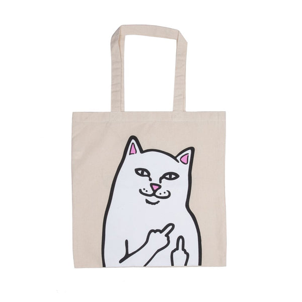 Rip N Dip OG Nermal Canvas Tote Bag - Natural