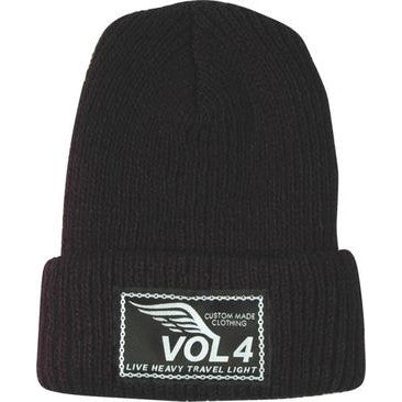 Vol 4 Speedwing Beanie - Black