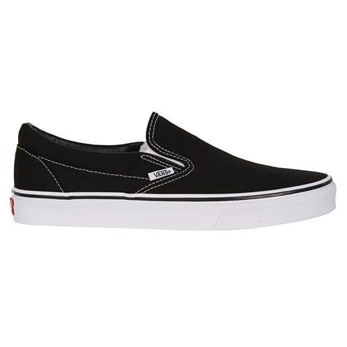 Vans Slip-On Pro Skateboarding Shoes - Black/White