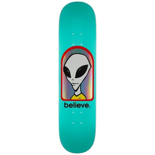 Alien Workshop Believe Hologram Skateboard Deck - 7.75