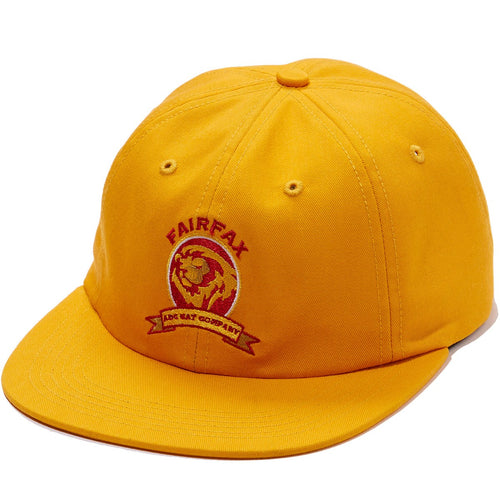 ABC Hat Co. Fairfax High Snapback Hat - Yellow