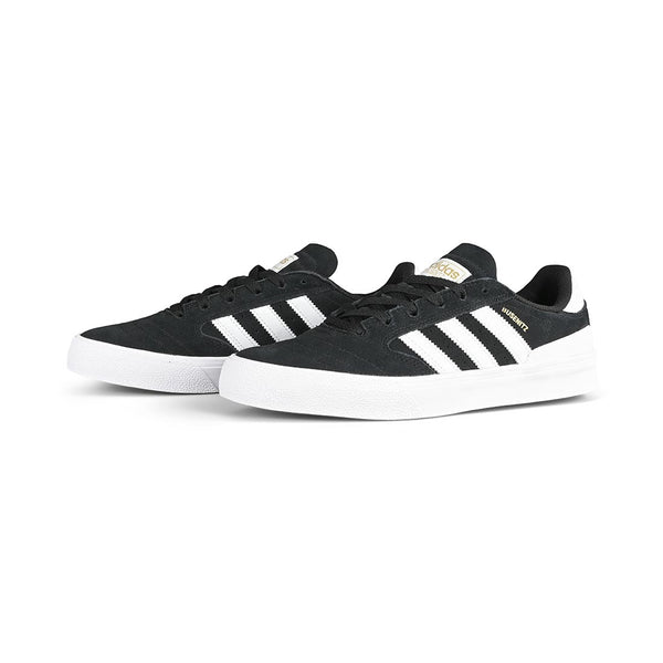Adidas Skateboarding Busenitz Vulc II Skate Shoes – Core Black / Cloud White / Gum