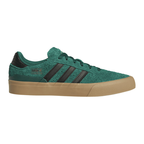 Adidas Skateboarding Busenitz Vulc II Skateboarding Shoes - Green/Black/Gum