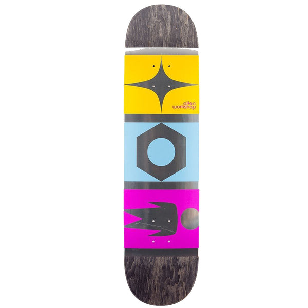 Alien Workshop Logo Star Nut Man Skateboard Deck Multi Colour - 8.25