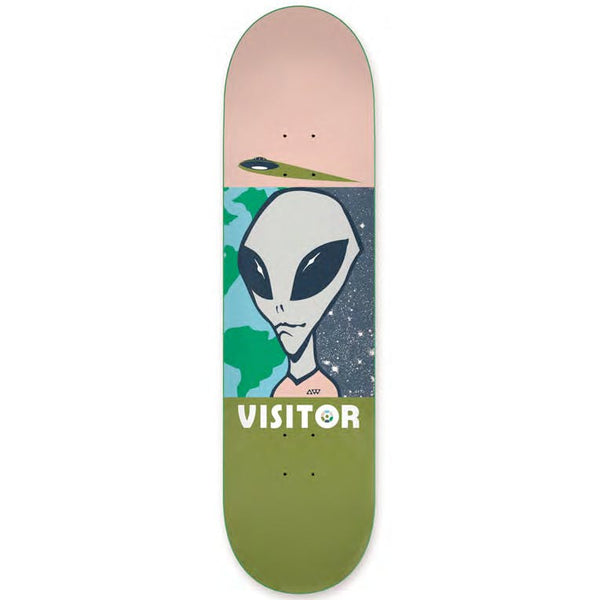 Alien Workshop Visitor Tourist Lrg Skateboard Deck - 8.25