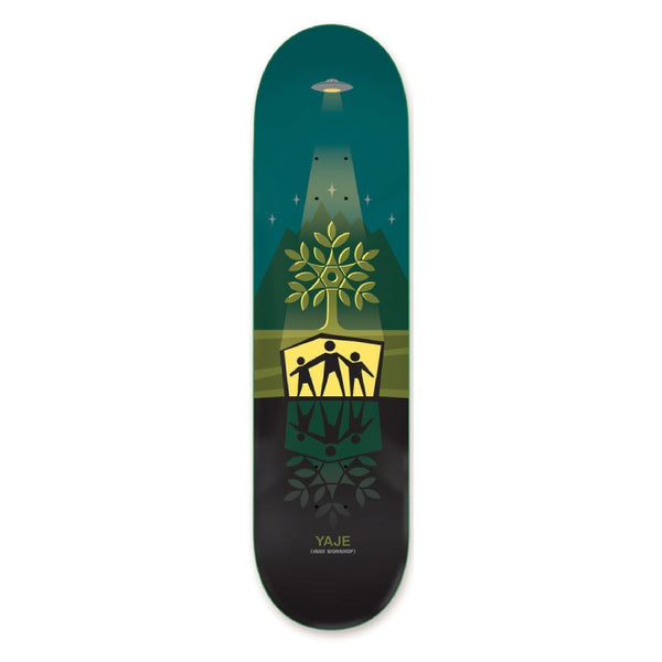 Alien Workshop Yaje Pro Shelter Skateboard Deck - 8.125
