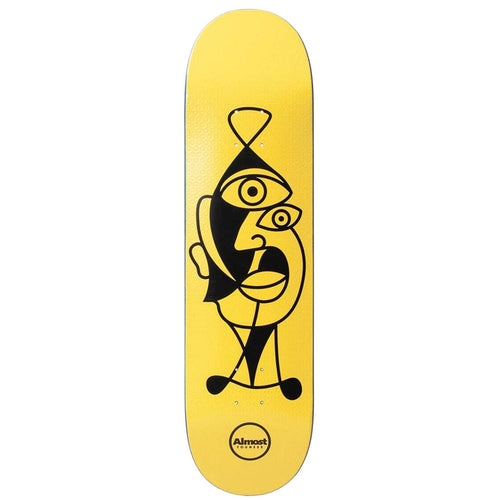 Almost Skateboards Youness Amrani Twisted Skateboard Deck - 8.25