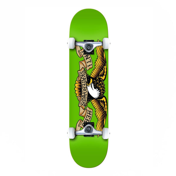 Anti Hero Classic Eagle LG Complete Skateboard Green - 8.00