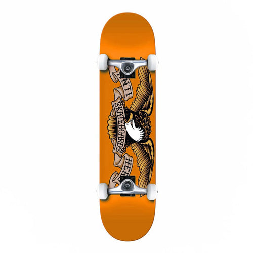 Anti Hero Classic Eagle MD Complete Skateboard Orange - 7.75