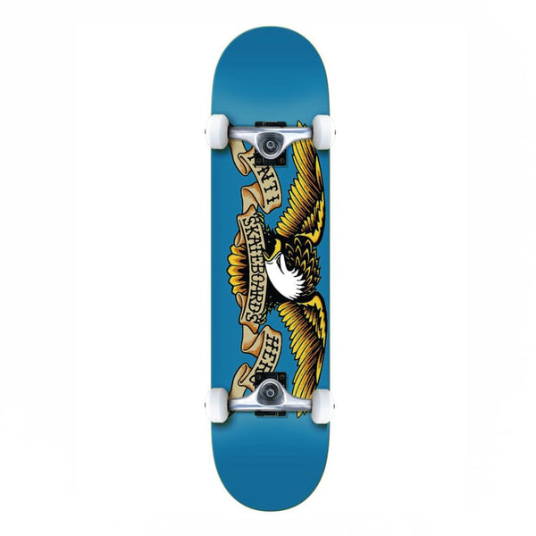 Anti Hero Classic Eagle SM Complete Skateboard Blue - 7.5