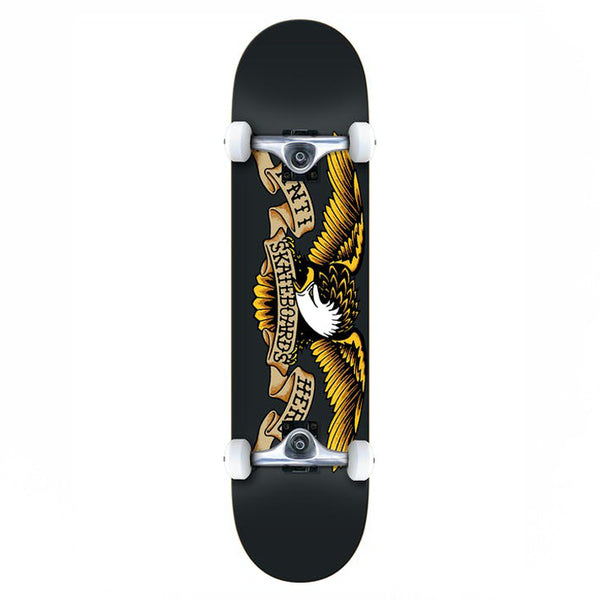 Anti Hero Classic Eagle XL Complete Skateboard Black - 8.25