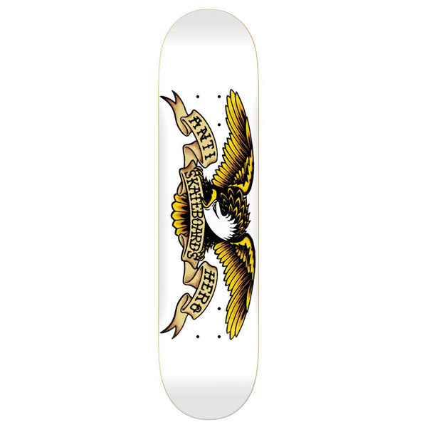 Anti Hero Skateboards Classic Eagle XXL White Skateboard Deck - 8.75