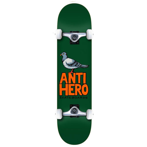 Anti Hero Pigeon Hero Complete Skateboard Green - 7.75