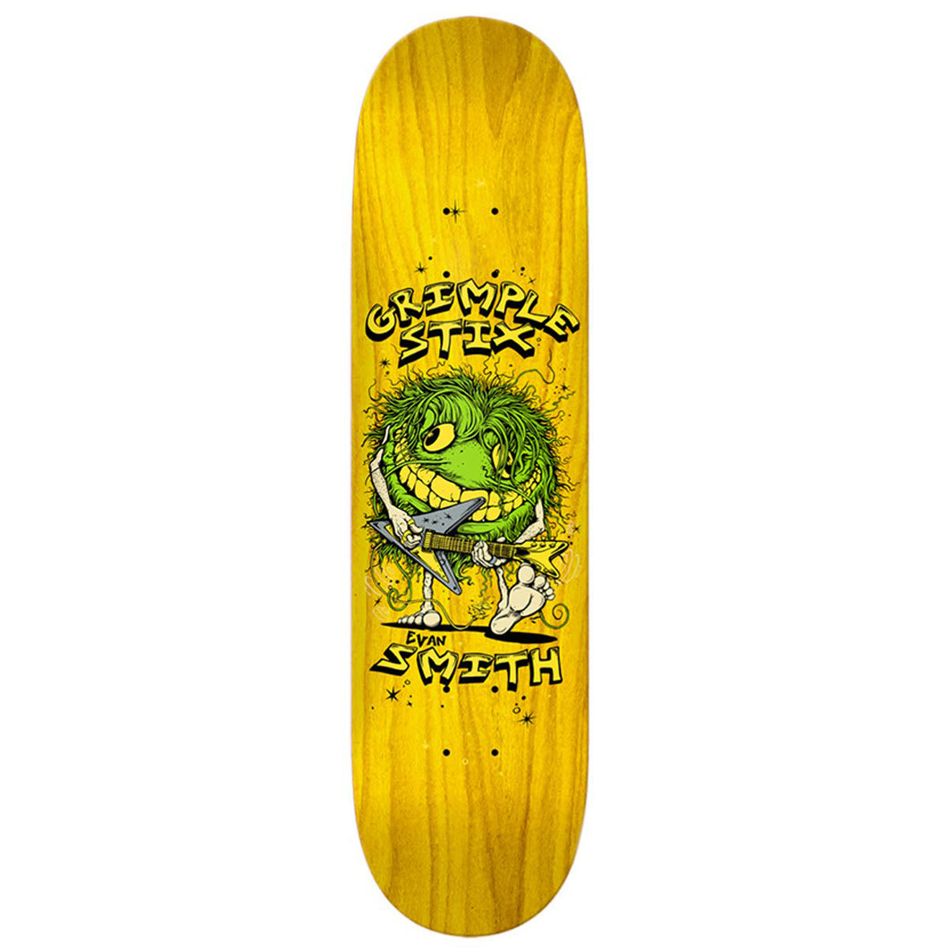 Anti Hero Grimple Stix Evan Smith Family Band Skateboard Deck - 8.12 (Various Stains)