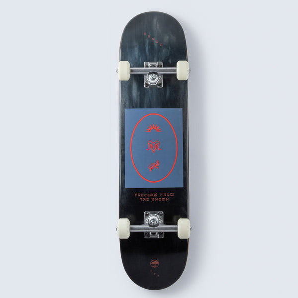 Arbor Collective Whiskey Revert Complete Skateboard - 7.75 (With Ace Trucks)