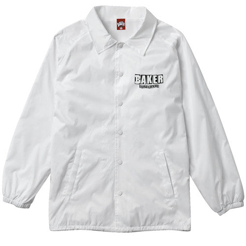 Baker Dubs Coaches Jacket - White