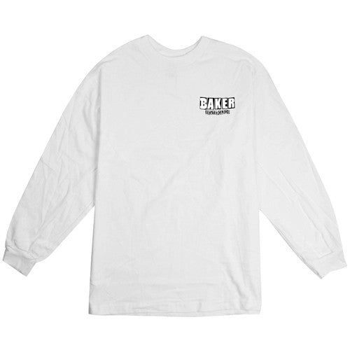 Baker Dubs Long Sleeve - White