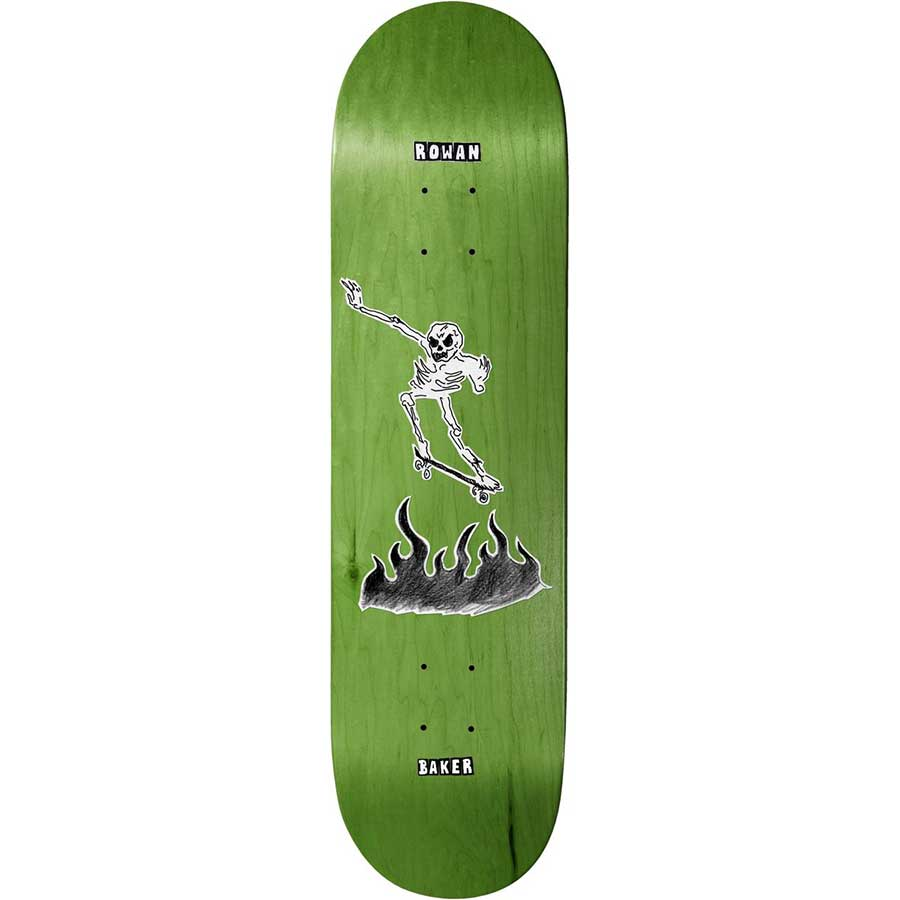 Baker Skateboards Rowan Zorilla Cremation Mayhem Deck - 8.5