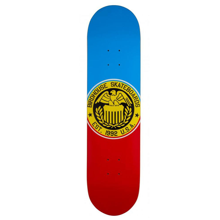 Birdhouse Eagle Logo Blue/Red Skateboard Deck - 8.00