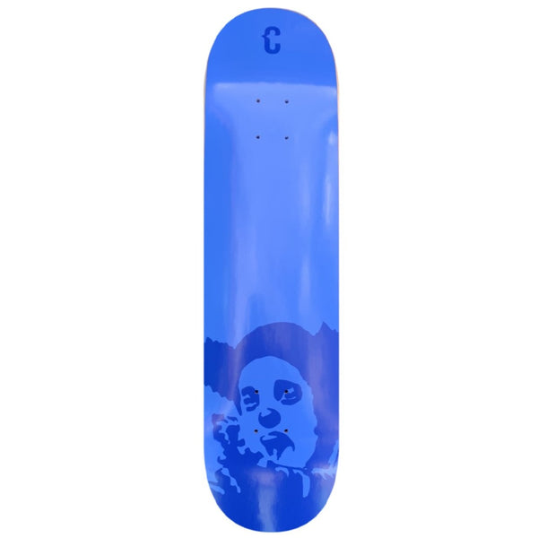 Clown Skateboards Manifesto Dub Skateboard Deck Dark Blue - 8.00